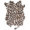 Rabbit Fur Skin - Medium Grade  Dyed Leopard (1pc)